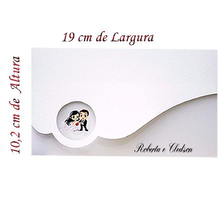 Convite de Casamento Corte Especial